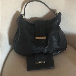 Authentic Gucci Black leather bag